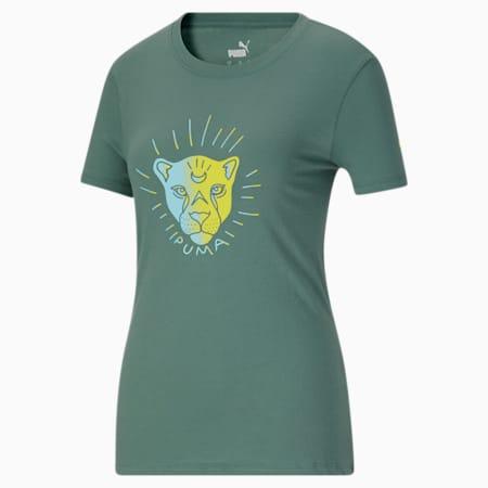 T-shirt X-Ray, femme, Épinette bleue, petit