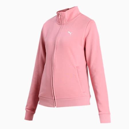 PUMA Women's Sweat Jacket, Foxglove, small-IND