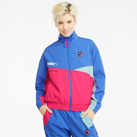 PUMA International Damen Trainingsjacke, Nebulas Blue, small