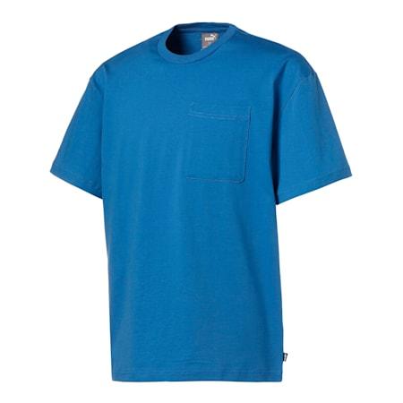 グラフィック オーバーサイズ 半袖 Tシャツ, Star Sapphire, small-JPN