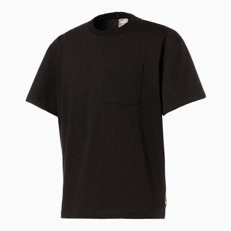 グラフィック オーバーサイズ 半袖 Tシャツ, Puma Black, small-JPN