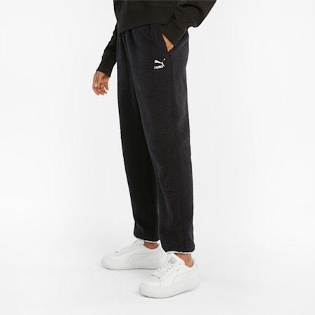 CLSX Sherpa Women's Pants, Puma Black, small-GBR