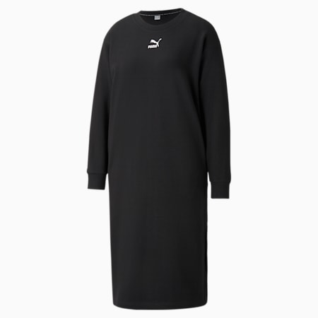 Robe col rond Classics femme, Puma Black, small