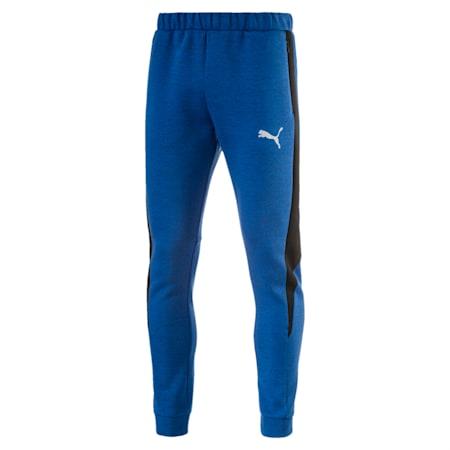 Active Men's Evostripe SpaceKnit Pants, TRUE BLUE Heather, small-IND