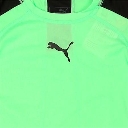 ACTIVE CELL Tee 2, Green Gecko Heather, small-IND