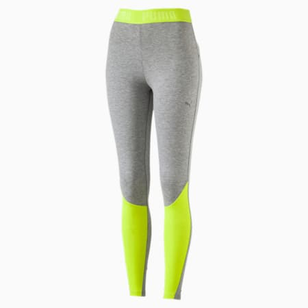 Active Women's Transition Leggings, Safety Yellow, small-SEA
