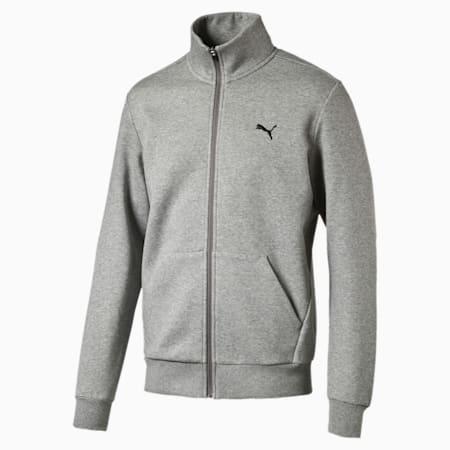 ESS Sweat Jacket, FL, Medium Gray Heather, small-IND