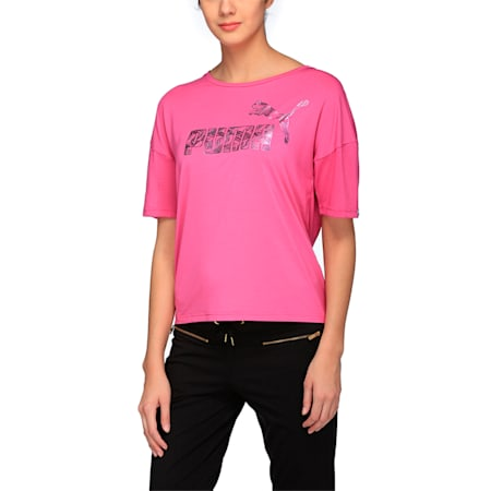 SWAN Tee W, Rose Violet, small-IND