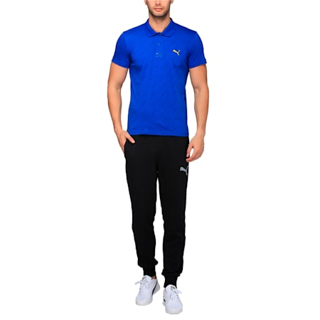 AOP Polo, TRUE BLUE, small-IND