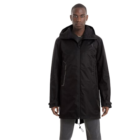 Men's Transform Protect Down Jacket, Puma Black, small-IND
