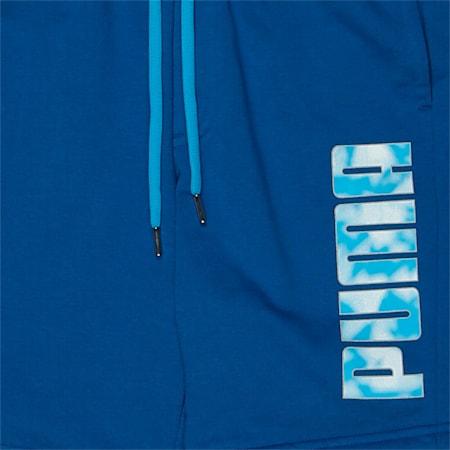 Sports Sweat Shorts, TRUE BLUE, small-IND
