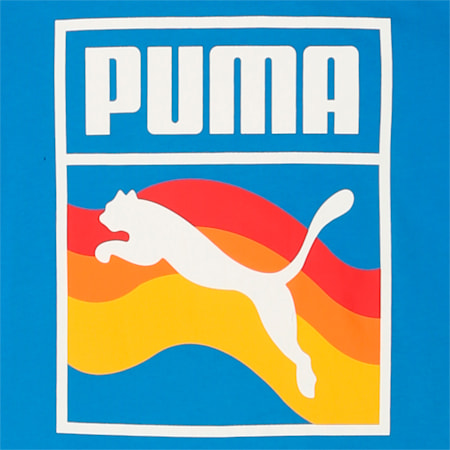 PUMA Summer Brand Tee, French Blue, small-IND