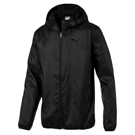 ESS Windbreaker (solid), Puma Black, small-IND