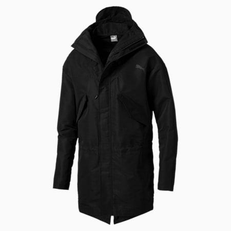 Style Shield Men's Parka, Puma Black, small-SEA