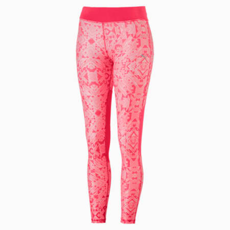 Training Girls' AOP Leggings, Paradise Pink-AOP, small-IND