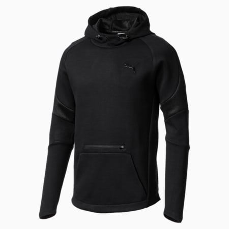Evostripe Move Men's Hoodie, Puma Black, small