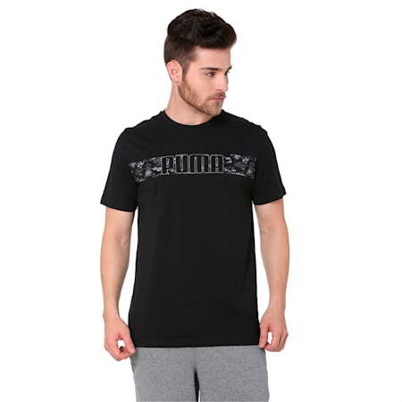 Active Hero Tee, Cotton Black, small-IND