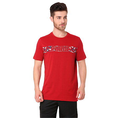 Active Hero Tee, Red Dahlia, small-IND