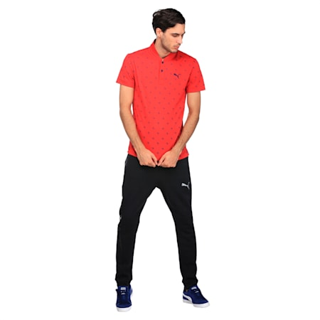 AOP Polo 2, Tibetan Red, small-IND