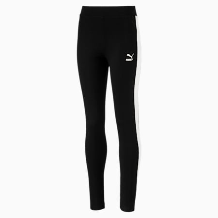 Classics T7 Leggings, Cotton Black, small