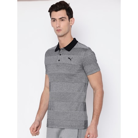 Thick Stripe Polo, Puma Black, small-IND
