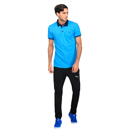 Jacquard Polo, Mykonos Blue, small-IND