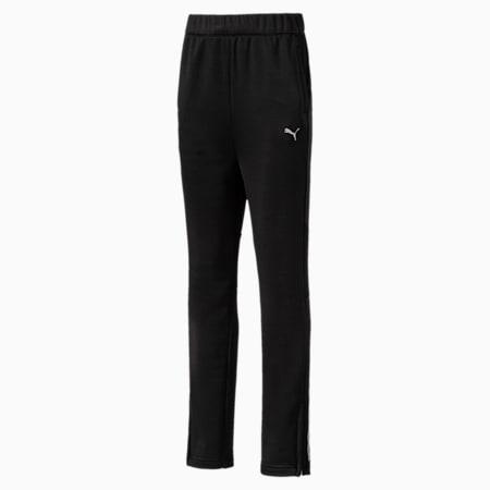 Boys' Gym Poly Pants, Puma Black, small-IND