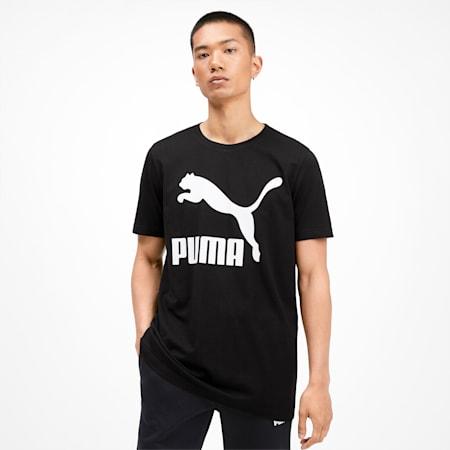 Classics Men's Logo Tee, Puma Black, small-SEA