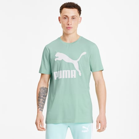 T-Shirt Classics Logo pour homme, Mist Green, small