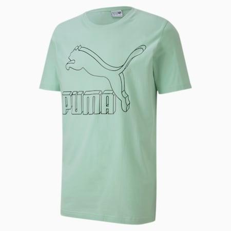 T-shirt à logo Classics, homme, Vert brume, petit