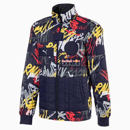 Red Bull Racing Street Men's Jacket, NIGHT SKY, small