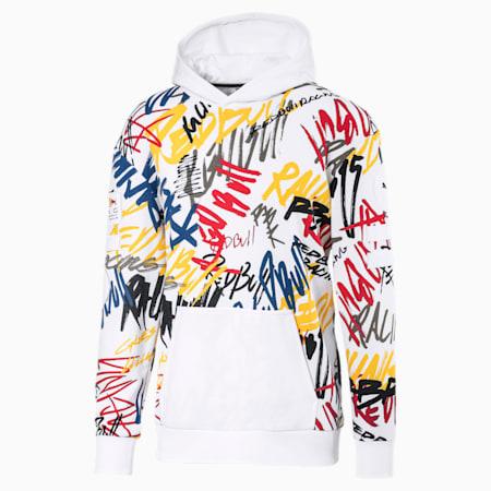 Red Bull Racing Street Men's Midlayer Jacket, Puma White, small