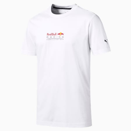 Red Bull Racing Dynamic Bull Men's Tee, Puma White, small