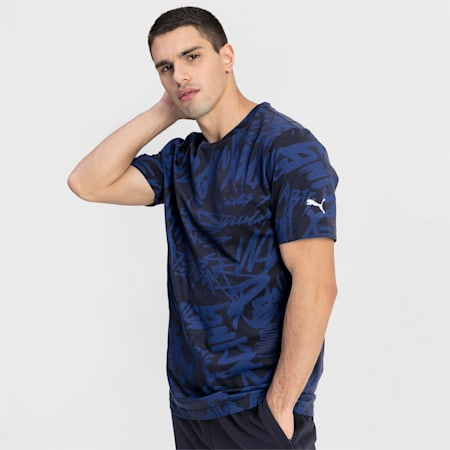 T-Shirt Red Bull Racing pour homme, NIGHT SKY, small