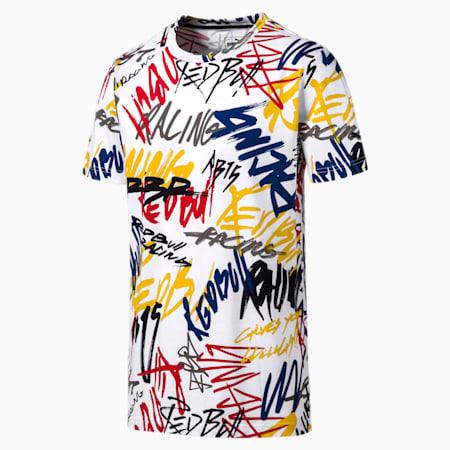 Red Bull Racing Herren T-Shirt, Puma White, small