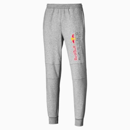 Red Bull Racing Logo Men's Sweatpants, Light Gray Heather, small