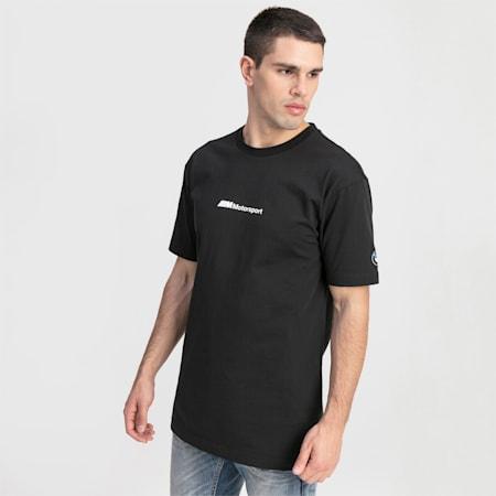BMW M Motorsport Street Graphic Herren T-Shirt, Puma Black, small