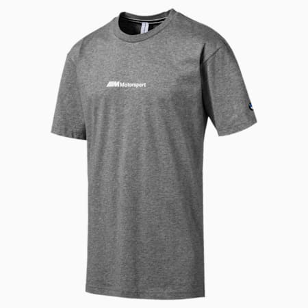 BMW M Motorsport Graphic Short Sleeve Men's Street T-Shirt, Medium Gray Heather, small-IND