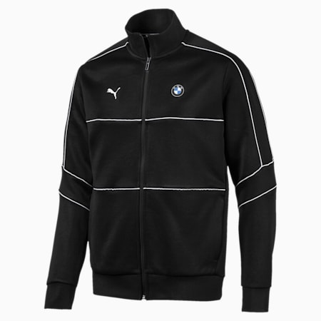 BMW M Motorsports T7 Track Men's Jacket, Puma Black, small-IND