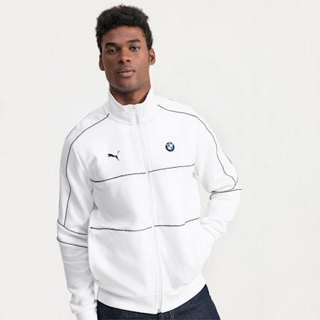 BMW M Motorsport T7 Track Men's Jacket, Puma White, small