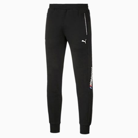 BMW M Motorsport Knitted Men's Sweatpants, Puma Black, small-SEA