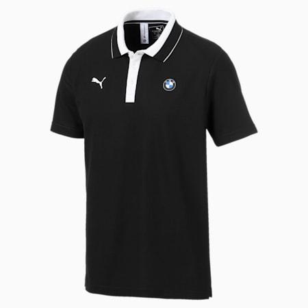 BMW M Motorsport Men's Polo Shirt, Puma Black, small