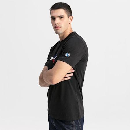 BMW MMS ロゴ Tシャツ +, Puma Black, small-JPN