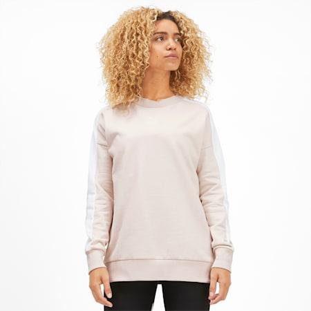 Classics T7 Women's Crewneck Sweatshirt, Pastel Parchment, small
