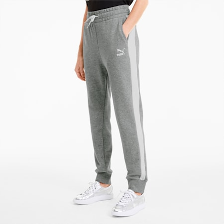 Classics T7 Knitted Women's Track Pants, Medium Gray Heather, small