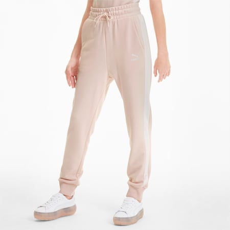 Classics T7 Knitted Women's Track Pants, Rosewater, small