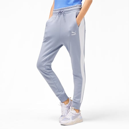 Classics T7 Knitted Women's Track Pants, Heather, small-SEA