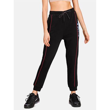 Chase Women's Sweatpants, Puma Black, small-IND