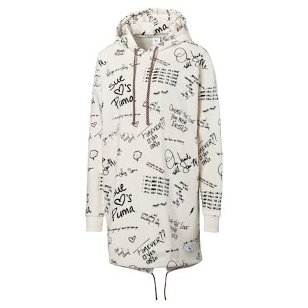 PUMA x SUE TSAI ウィメンズ AOP フーデッド ドレス, Whisper White, small-JPN