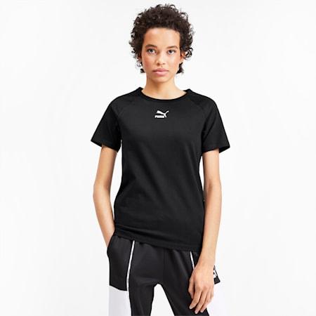 PUMA XTG Graphic Short Sleeve Women's Top, Puma Black, small-SEA
